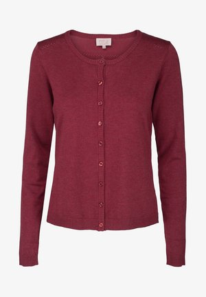 NEW LAURA - Cardigan - berry red