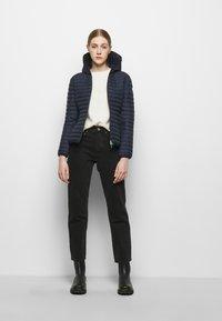 Save the duck - ELLA HOODED JACKET - Light jacket - navy blue - 1
