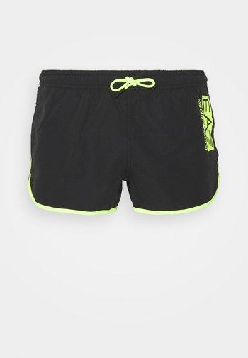 SEA WORLD FLUO LOGO - Swimming shorts - nero