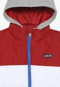 Levi's® - PUFFER - Veste d'hiver - pompeian red - 4
