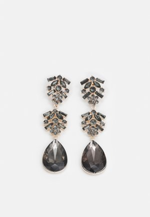 PCSASSELINE EARRINGS - Oorbellen - rose gold-coloured/grey