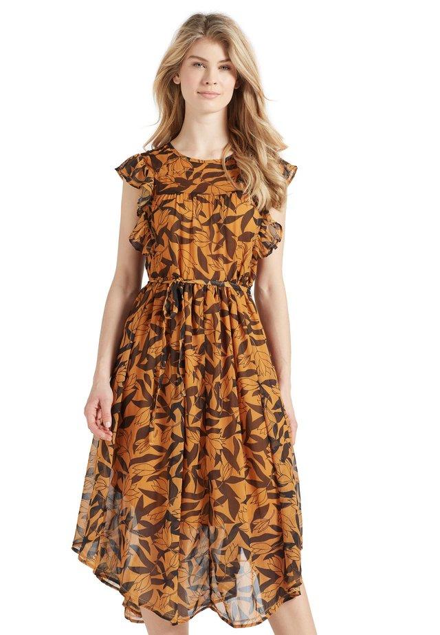 ANISA - Vestito estivo - orange/black