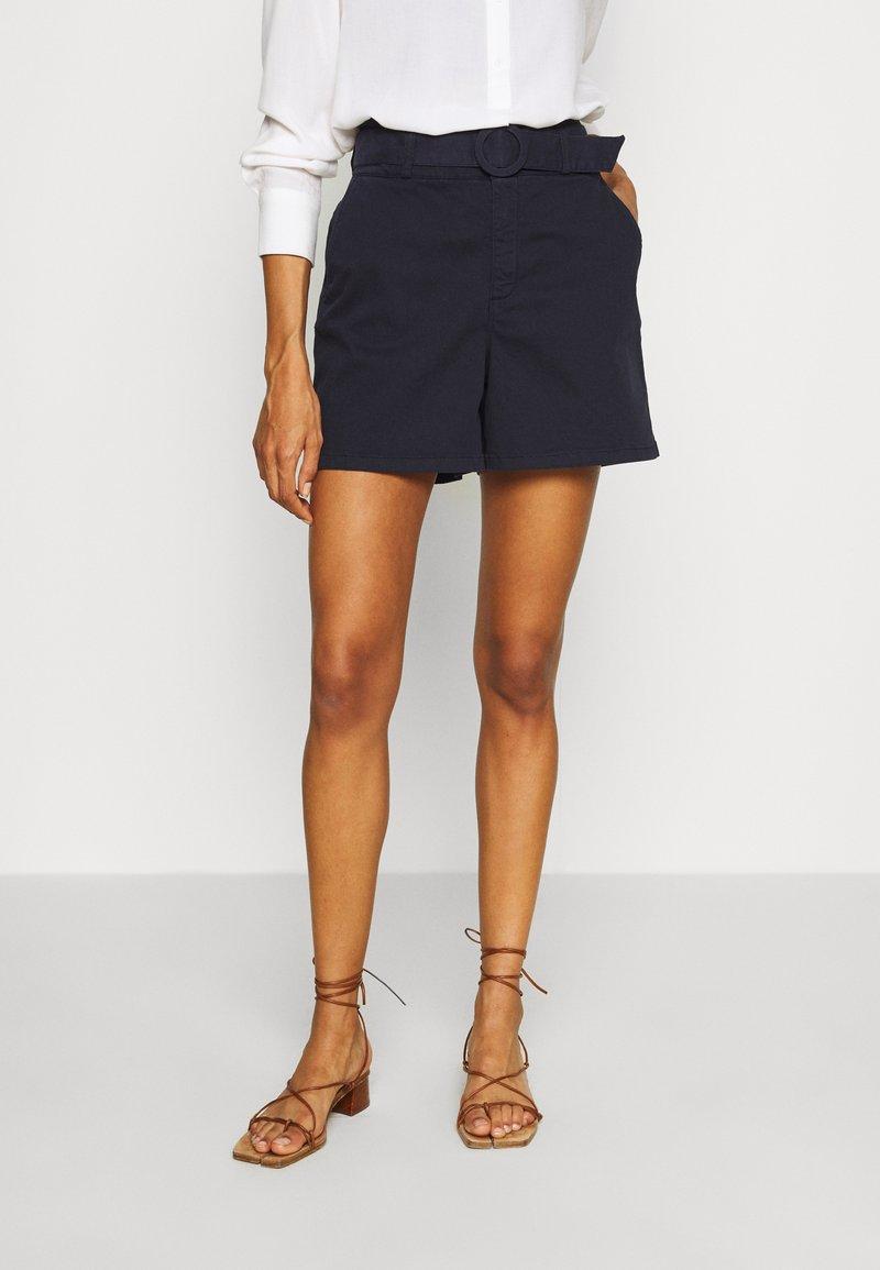 NAF NAF - GARO - Shorts - bleu marine