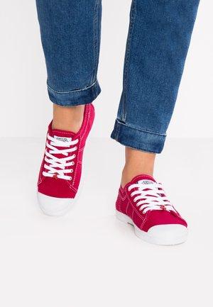 BASIC - Baskets basses - rouge
