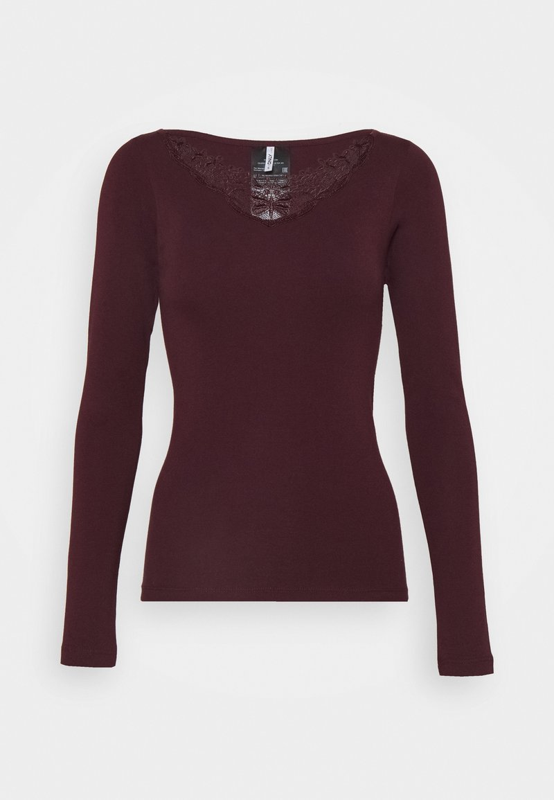 ONLY - ONLKIRA LIFE TOP  - Long sleeved top - port royale