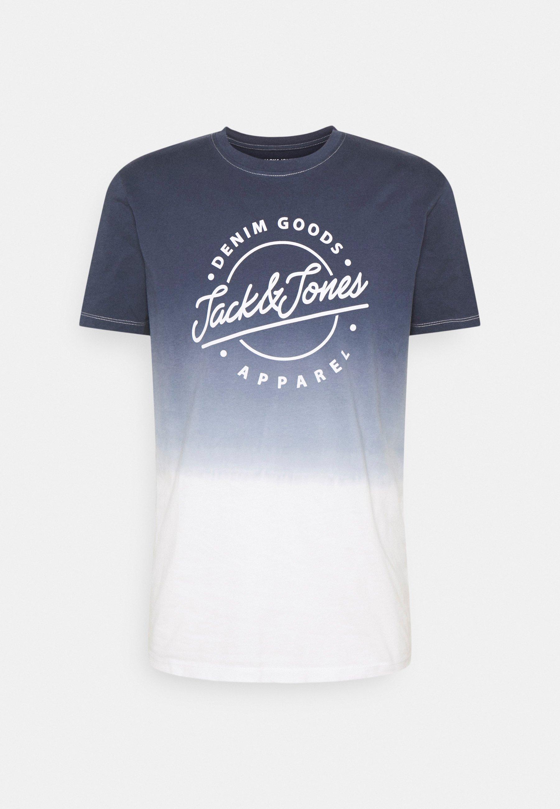 Homme JJTIM TEE CREW NECK - T-shirt imprimé