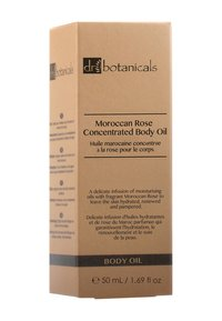 Dr Botanicals - MOROCCAN ROSE CONCENTRATED BODY OIL 50ML - Lichaamsolie - - - 1