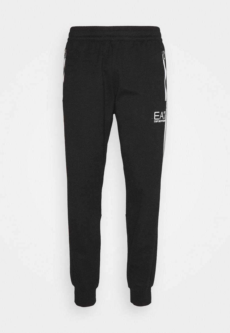 EA7 Emporio Armani - Træningsbukser - black/white