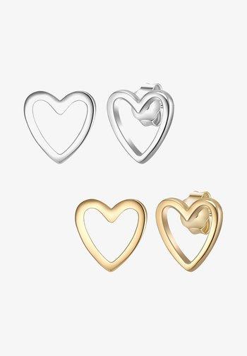 2ER SET - Earrings - silber/gelbgold