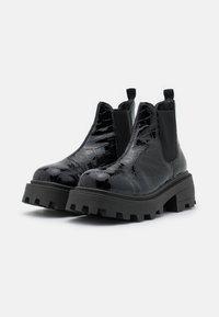 Topshop - KYLIE CHELSEA SQUARE TOE BOOT - Platform ankle boots - black - 2