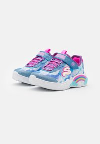 Skechers - RAINBOW RACER - Trainers - blue - 1