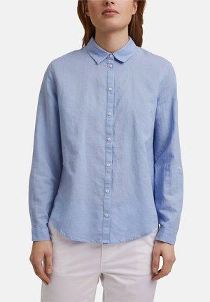 CORE - Button-down blouse - light blue lavender