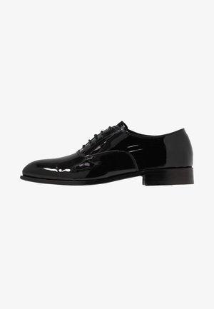 SINATE  - Elegantní šněrovací boty - black
