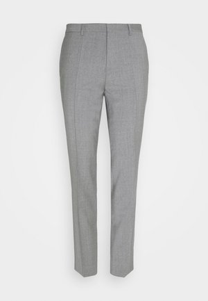 HESTEN - Suit trousers - dark grey