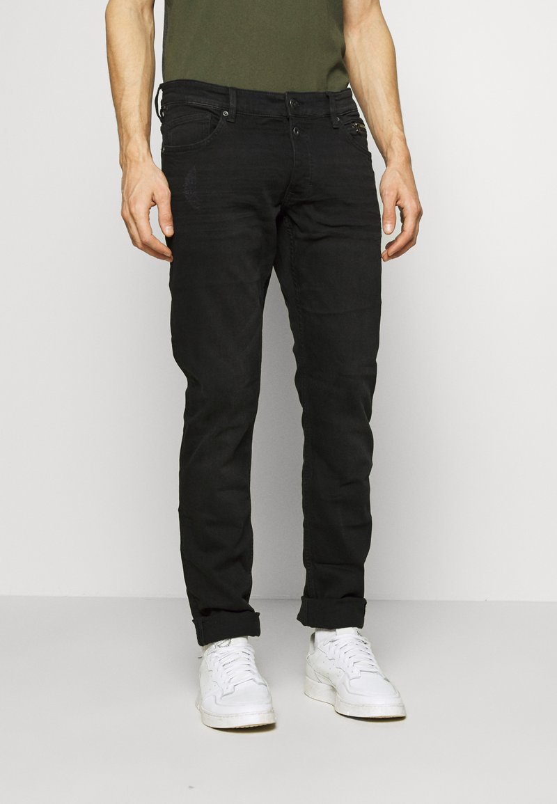 QS by s.Oliver - Slim fit jeans - black melange
