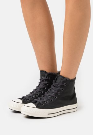 CHUCK 70 - High-top trainers - black/egret