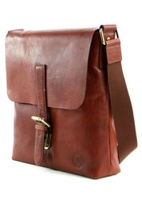 Saddler - VERDAL - Across body bag - midbrown - 2