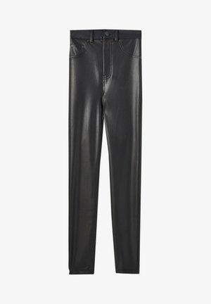 SKINNY-FIT - Legging - mottled black
