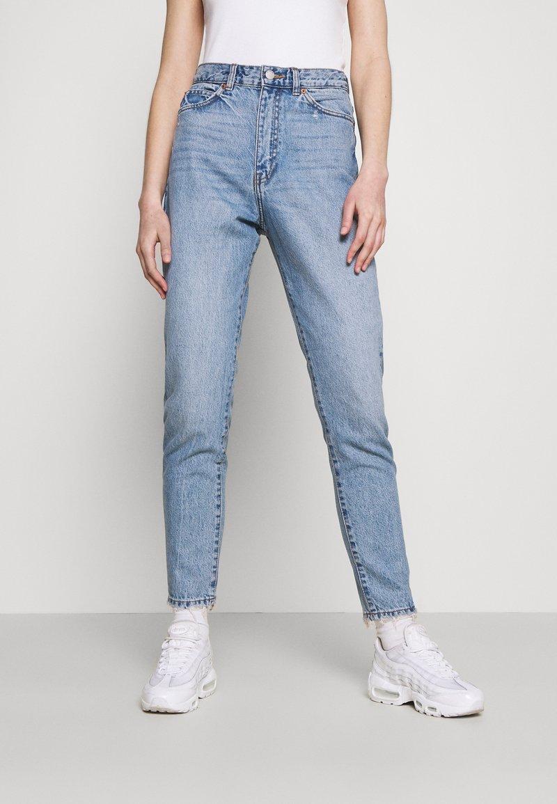 Dr.Denim - NORA - Straight leg jeans - blue jay worn hem