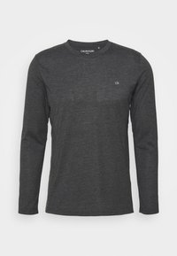 Calvin Klein Golf - LONG SLEEVE 3 PACK - Maglietta a manica lunga - black/white/charcoal - 4