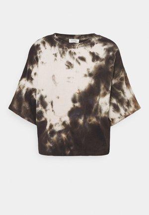 BOWILOVE  - T-shirt con stampa - zinc