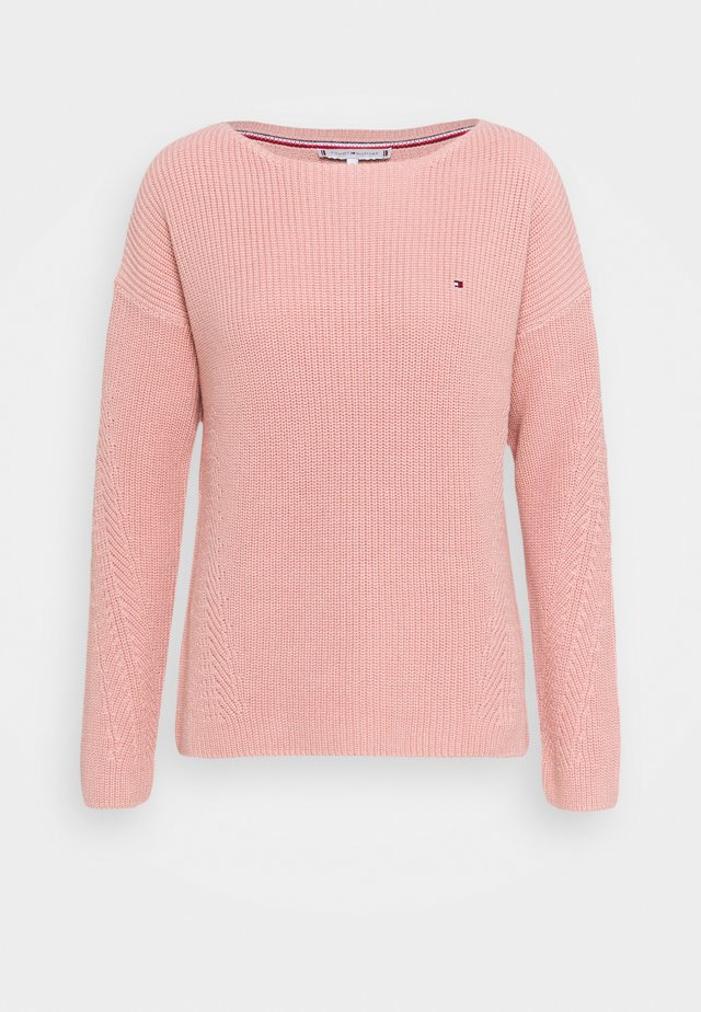 HAYANA BOATNECK - Pullover - soothing pink