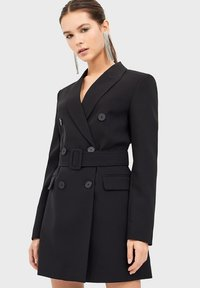 Stradivarius - Trenchcoat - black - 0