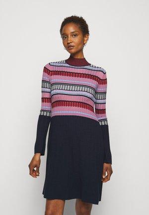 DAFNE - Jumper dress - navy blue