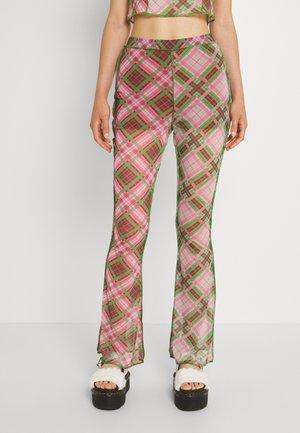 REVELLER PANT - Kalhoty - check