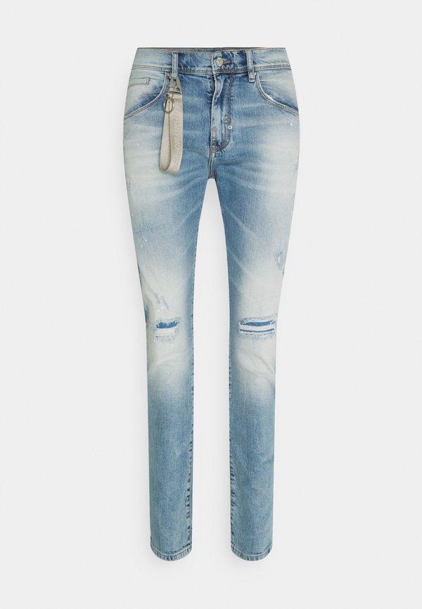 Antony Morato CARROT KENNY - Jeansy Slim Fit - blu denim/niebieski Odzież Męska BDTX