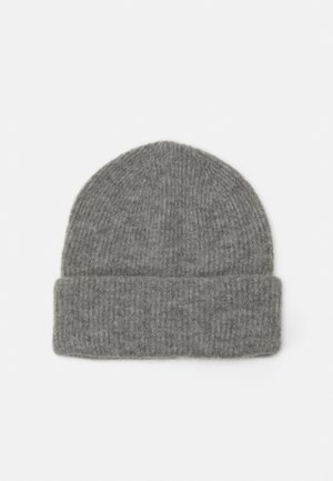 VMSINE BEANIE - Čepice - light grey melange