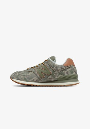 Trainers - covert green