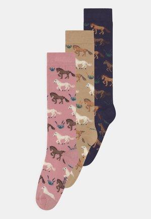 KNEE HIGH 3 PACK - Knee high socks - multi-coloured