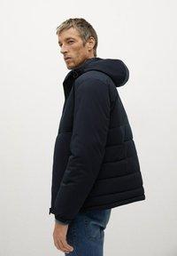 Mango - TARGET-I - Winter jacket - dunkles marineblau - 3