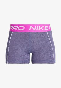 Nike Performance - SHORT SPACE DYE - Tights - cerulean/white - 3