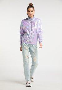 myMo - Regnjakke / vandafvisende jakker - lilac holographic - 1