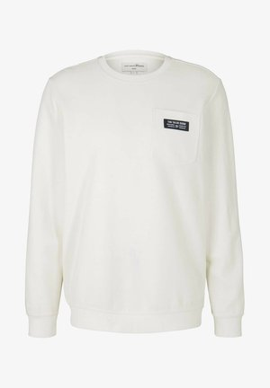 Sweatshirt - soft light beige