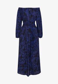 OYSHO - OFF-THE-SHOULDER TWO-TONE DRESS 31998115 - Sukienka letnia - blue - 5