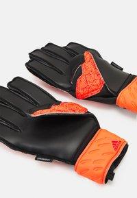 adidas Performance - UNISEX - Goalkeeping gloves - solar red/red/black - 1