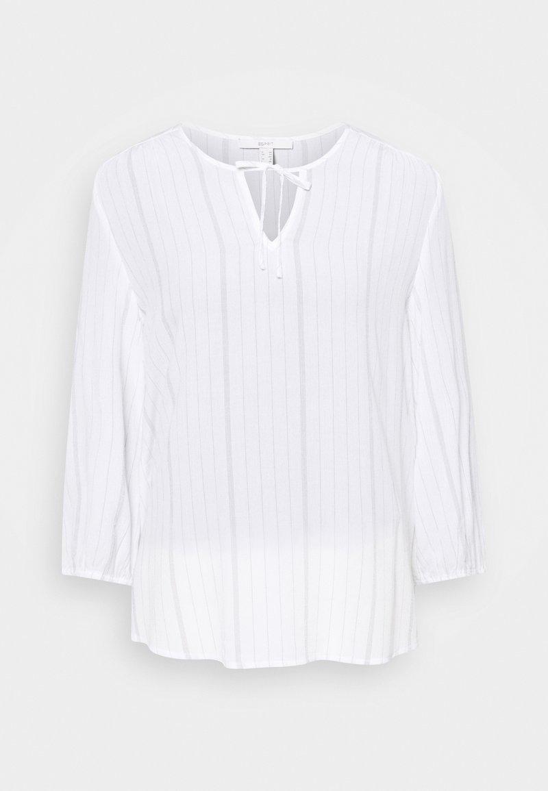 Esprit - FINE STRIPE - Blouse - off white