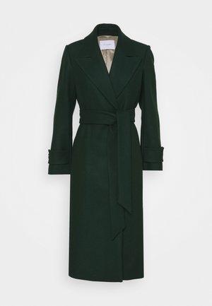 BELTED COAT - Classic coat - pine forrest