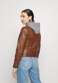 Gipsy - TALIDA - Leather jacket - cognac - 2