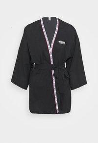 Moschino Underwear - NIGHT GOWN - Badjas - black - 3