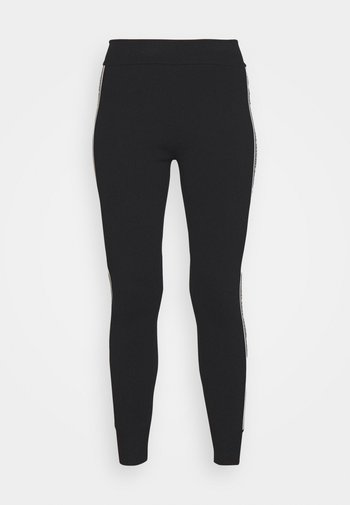LOGO TAPE - Leggings - black