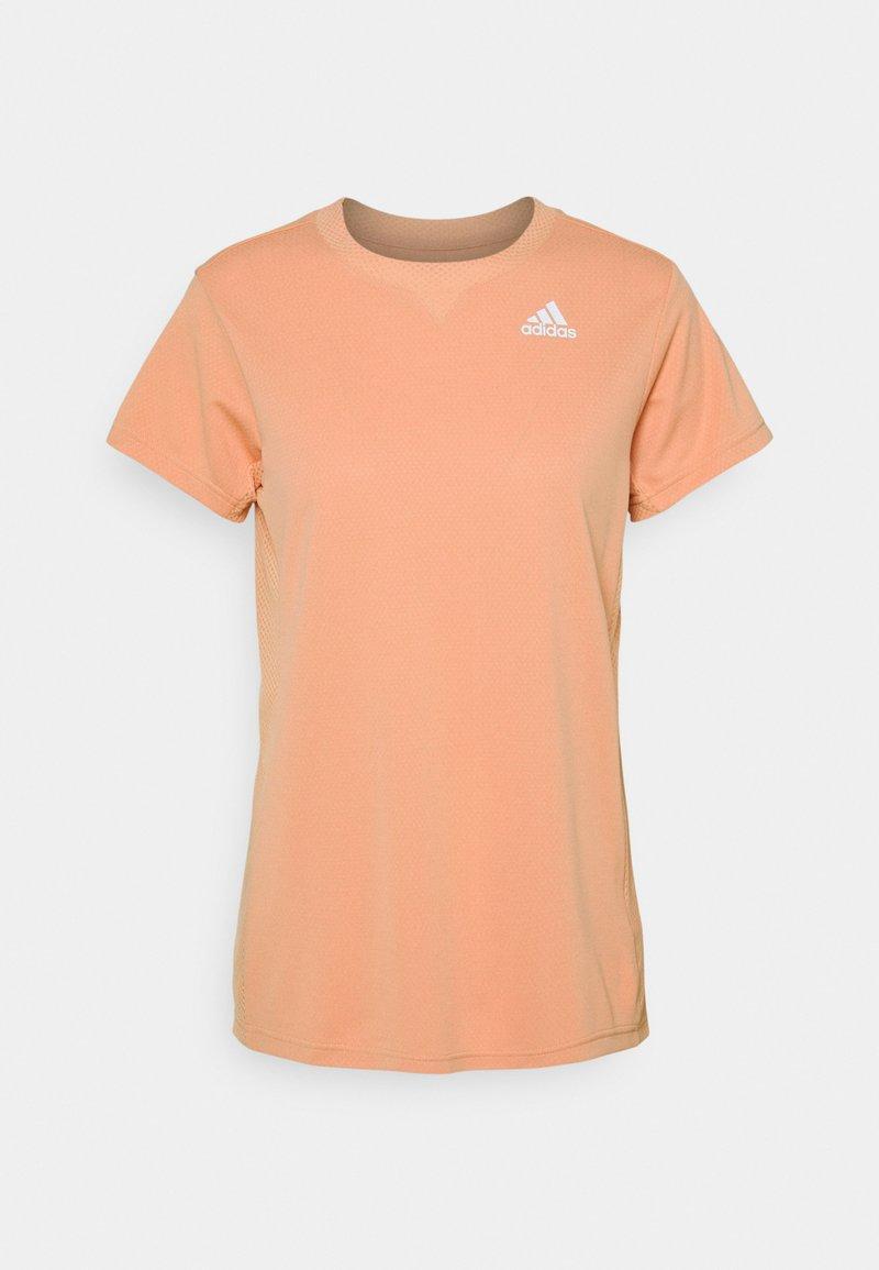 adidas Performance - HEAT.RDY ACE CLUB - Basic T-shirt - ambient blush