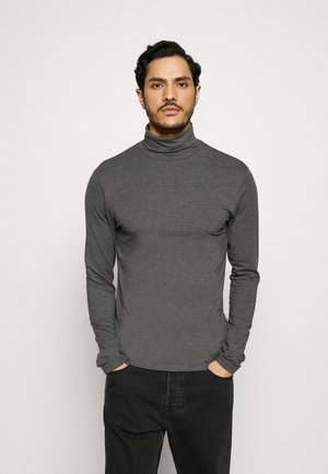 Langærmede T-shirts - dark gray