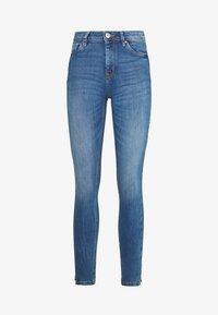 TOM TAILOR DENIM - NELA - Jeans Skinny Fit - mid stone bright blue denim - 3