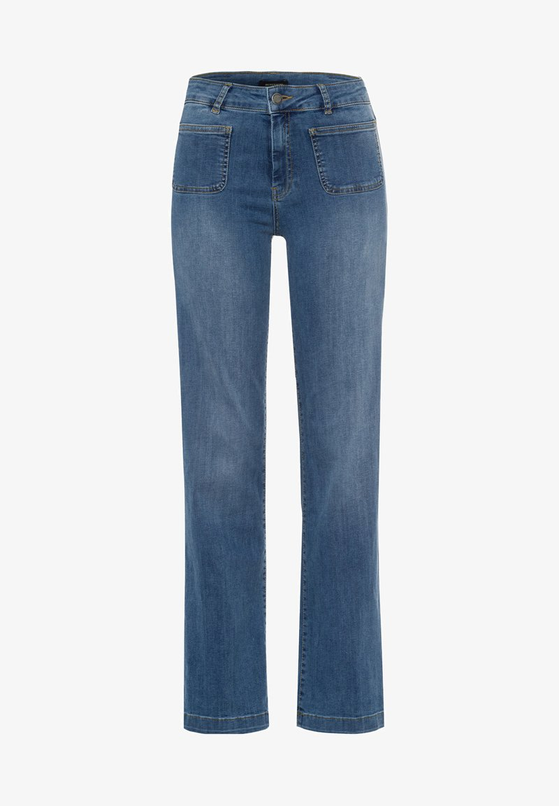 More & More - Straight leg jeans - blue denim