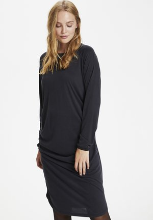 Jersey dress - black wash