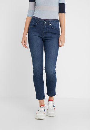 RAE DARK - Slim fit jeans - indigo stone wash